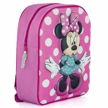 Minnie mouse rugtasje voor kinderen 31 cm