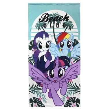 My little pony handdoek 70 x 140 cm voor meisjes