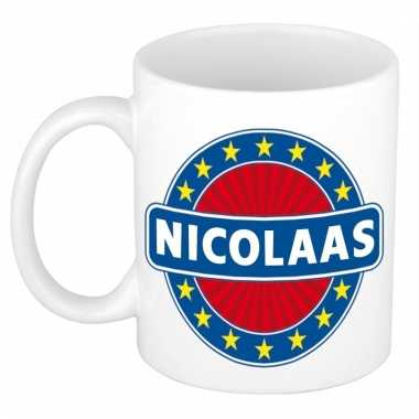 Naamartikelen nicolaas mok / beker keramiek 300 ml