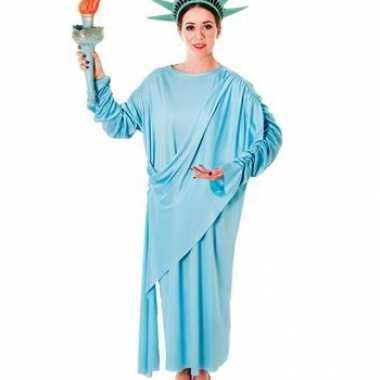 New york kostuum vrijheidsbeeld