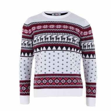 Nordic kerst sweater voor volwassenen