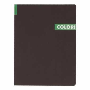Notitieboekje b5 96 groene vellen