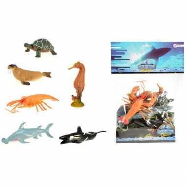 Oceaan diertjes van plastic