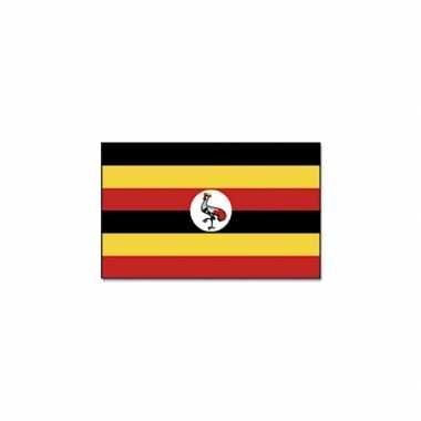 Oeganda versiering vlag