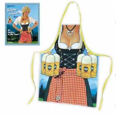 Oktoberfest keukenschort heidi