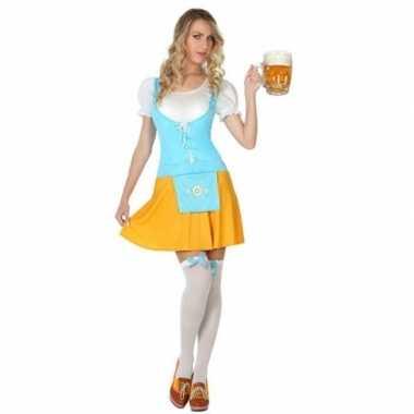 Oktoberfest - voordelig oktoberfest verkleed jurkje voor dames