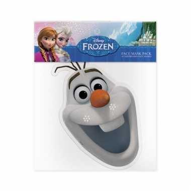 Olaf frozen gezichtsmasker
