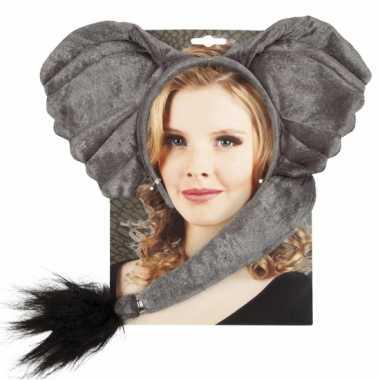 Olifant verkleed setje voor volwassenen