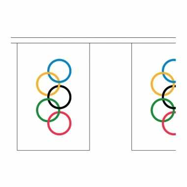 Olympische vlaggenlijnen