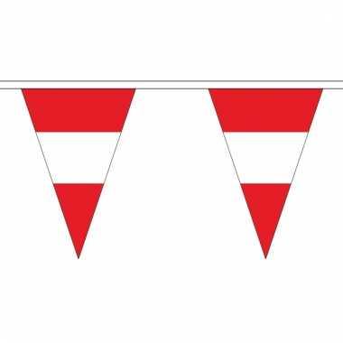Oostenrijk versiering vlaggenlijn 5 m