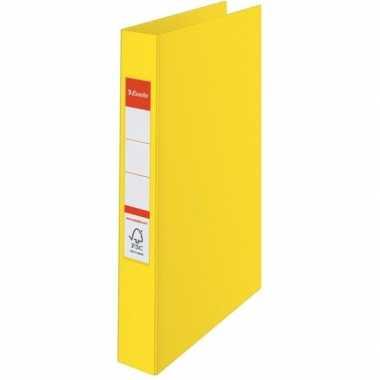 Opberg documenten mappen a4 2 gaats geel