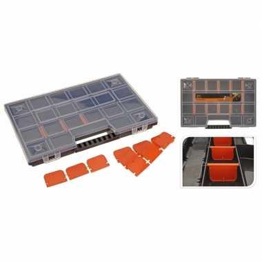 Opberg/sorteer box voor schroefjes en spijkers 29 cm