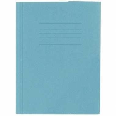 Opbergmappen folio formaat blauw