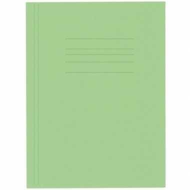 Opbergmappen folio formaat groen