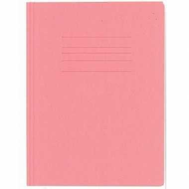 Opbergmappen folio formaat rood