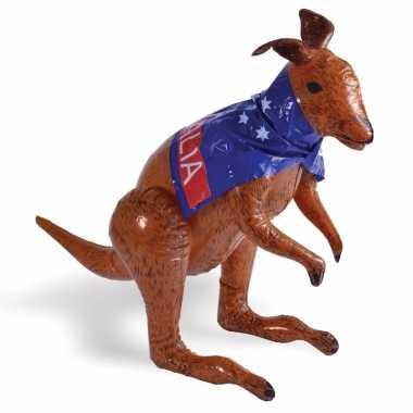 Opblaas aussie kangoeroe 70 cm