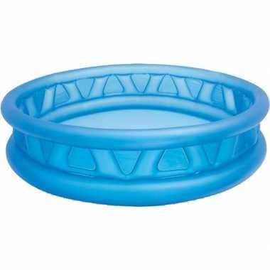 Opblaas buitenzwembad blauw 188 cm
