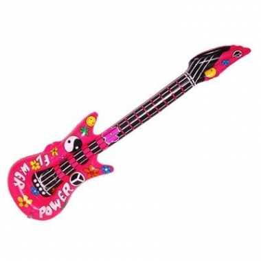 Opblaas gitaar flower power