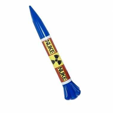 Opblaas raket noord korea 87 cm