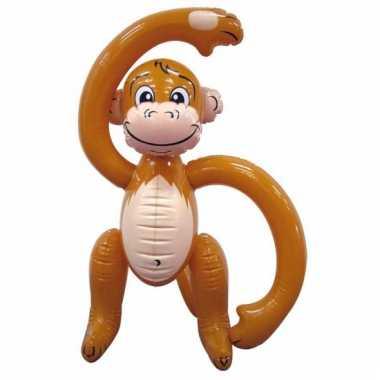 Opblaasbaar decoratie aapje