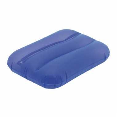 Opblaasbaar kussentje blauw