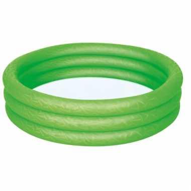 Opblaasbaar mini zwembad groen