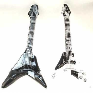 Opblaasbare rock gitaar kleuren