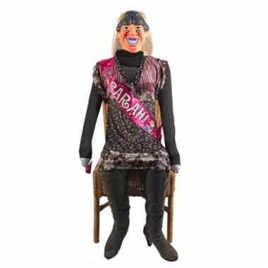 Opblaaspop sarah 50 jaar