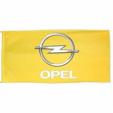 Opel merchandise vlaggen 150 x 75 cm
