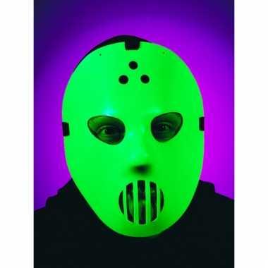 Oplichtend hockey masker