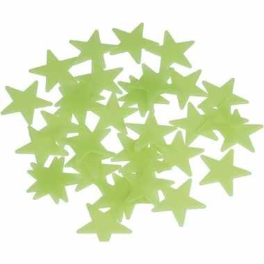 Oplichtende sterren hemel