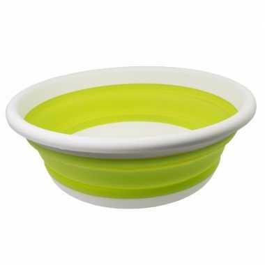 Opvouwbaar teiltje lime groen
