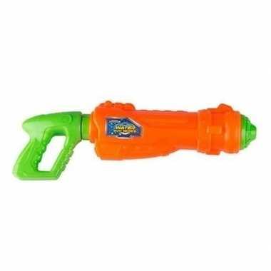 Oranje/groen water pistool 44 cm