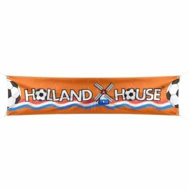Oranje holland banner 180 cm