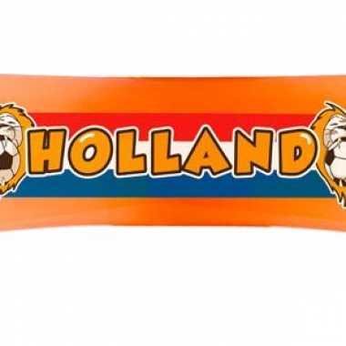 Oranje holland banner 80 cm