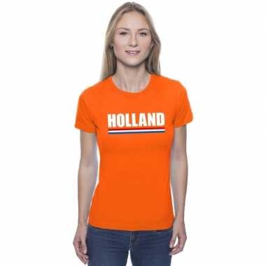 Oranje holland supporter shirt dames