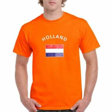 Oranje holland vlaggen t-shirts