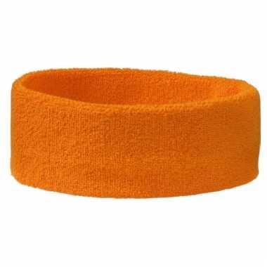 Oranje hoofdbandjes