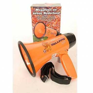 Oranje luidsprekers