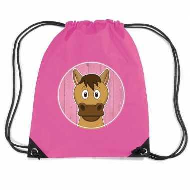 Paarden rugtas / gymtas voor kinderen