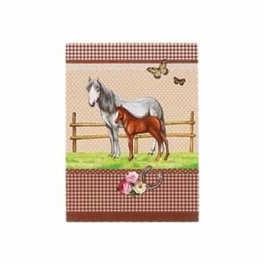 Paarden schrijfboekje a7 10093851