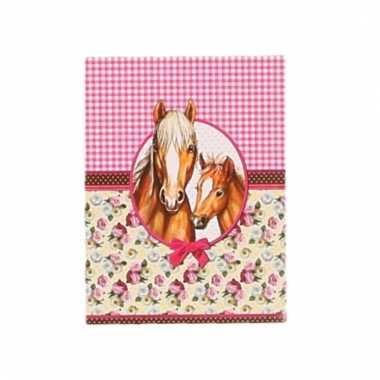 Paarden schrijfboekje a7 10093854