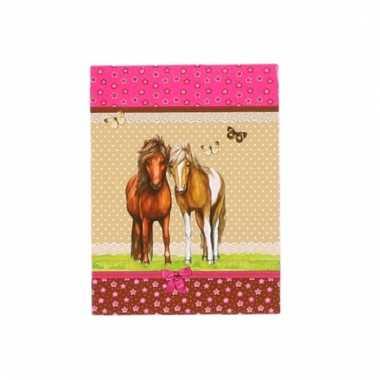 Paarden schrijfboekje a7 10094864