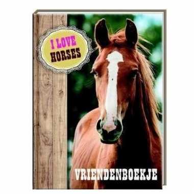 Paarden vriendinnenboekje