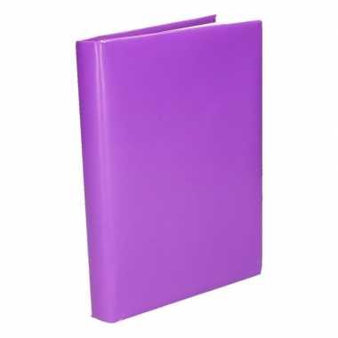 Paars inpakpapier voor boeken 200 cm