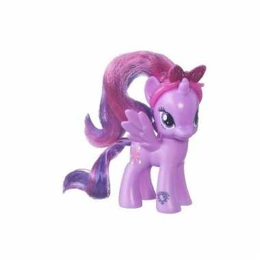 Paars speelgoed my little pony 8 cm