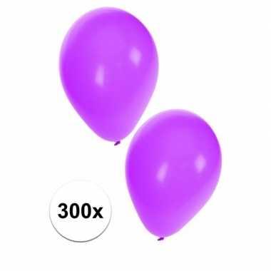 Paarse feest ballonnen, 300 st