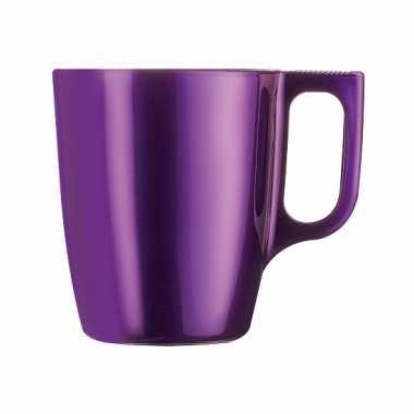 Paarse koffiemok 250 ml