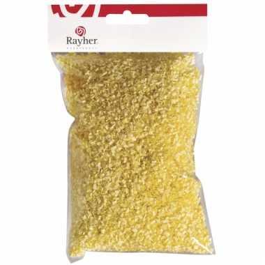 Paasversiering geel gras 50 gr