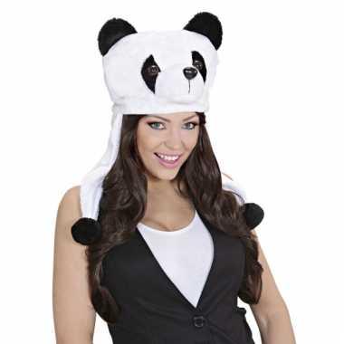 Panda beer feestmuts voor volwassenen